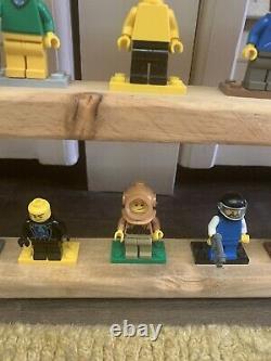100 Displayed Lego Mini Figures Santa Claus Batman Ninjago Storm Troopers