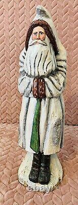 16 A Anthony Costanza Limited Edition Santa Claus Figure Folk Art Silvestri