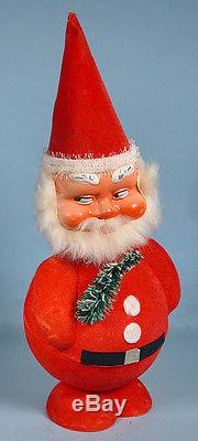 1965 Santa Claus Bobble Head Candy Container with Original Box West Germany