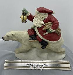 1995 United Design Legend of Santa Claus Into The Wind CF-061 Christmas Polar
