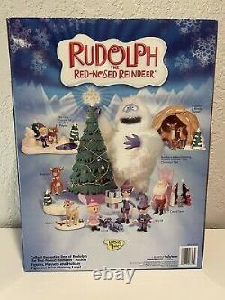2003 Playing Mantis Memory Lane Rudolph Santa Claus Ultimate Action Figure New