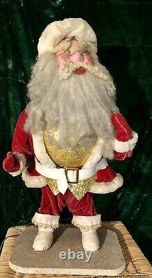 30 Vintage 1960s MECHANICAL Santa Claus Christmas Harold Gale Store Display