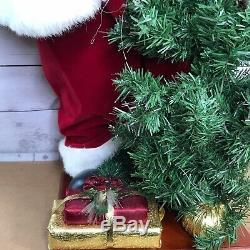 36 Large Standing Christmas Santa Claus Figure Doll Xmas Tree Room Decoration