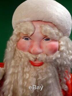 7-Up Santa Claus 1950's Animated Inflating Store Display Harold Gale  Figure