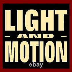 Animated Christmas Figure / Light & Motion / Classic Santa Claus & Lighted Bell