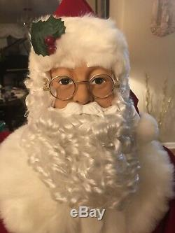 Animated Life Size Santa Claus 50