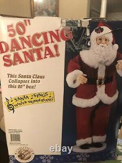 Animated Life Size Santa Claus 50