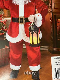 Animatronic Santa Claus Christmas 5 Foot Tall Singing/Story Telling Lighted 60