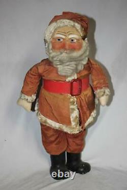 Antique Christmas Large Santa Claus Store Display