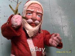 Antique German Belsnickle Santa Claus Figure Father Christmas Belsnickel Doll
