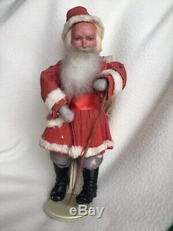 Antique Santa Claus with Heubach Face