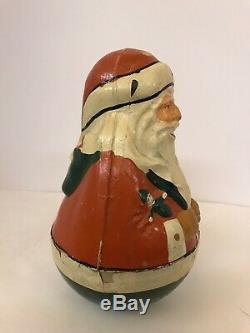 Antique Schoenhut Santa Claus Roly Doly