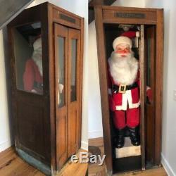 Antique life-size Santa Claus