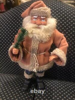 Antique look 19 Woodcutter Santa Claus Candy Container reproduction