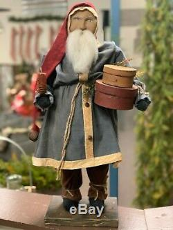 Arnett Santa Claus with Pantry Boxes & Candle
