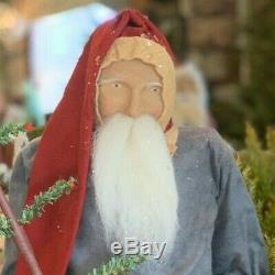 Arnett Santa Claus with Pantry Boxes & Tree