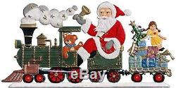 Artist Wilhelm Schweizer German Christmas Pewter Zinnfiguren Santa Claus 2000