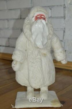 BIG Collectible 1960 s! VINTAGE Santa Claus DED MOROZ Christmas Doll TOY SOVIET