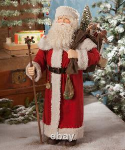 Bethany Lowe Santa Claus withBag of Toys Large Christmas 25 TD8542 FREE SHIP