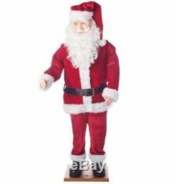 Christmas Dancing Santa Outdoor Christmas Decor 5.8 ft Tall