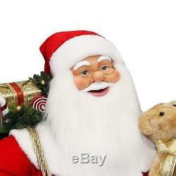 Christmas Decoration Santa Claus Life Size Animated Singing and Dancing 59