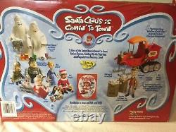 Complete Lot of 9 Santa Claus is Comin to Town, Memory Lane, Unopened, Figures