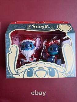 DISNEY HOT TOYS Lilo & Stitch Christmas Cosbaby Santa Claus CHRISTMAS FIGURE SET