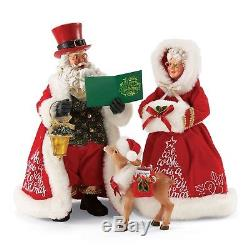 Department 56 Possible Dreams Santa Claus A Merry Christmas 2017 LE Clothtiqu