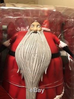 Diamond Select- Nightmare Before Christmas Santa Claus Deluxe Action Figure RARE