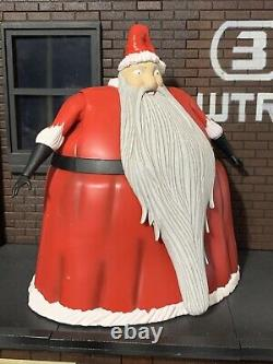 Diamond Select The Nightmare Before Christmas Santa Claus figure, better watch