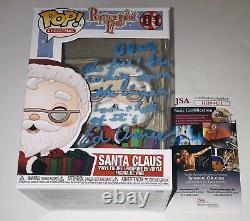 Ed Asner Legendary Actor Signed Autographed Santa Claus Funko Pop Figure Jsa Coa