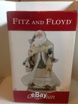 Fitz & Floyd Gregorian 21 Large Santa Claus Christmas Figure With Box