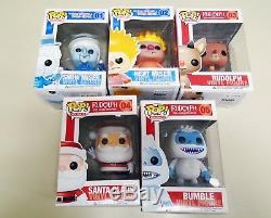 Funko Pop Holidays Lot 1-5 Year Without Santa Claus and Rudolph figures