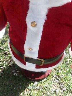 Gemmy Animated Singing Dancing Santa Claus Christmas Holiday