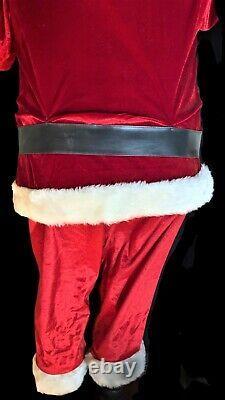 Gemmy Life Size Santa Claus 5' Christmas Animatronic Singing & Dancing Santa
