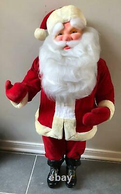 Harold Gale 1950s Vintage Santa Claus 38 Christmas Store Display Figure