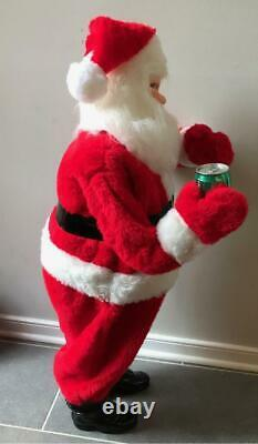Harold Gale Vintage 7UP Santa Claus 38 Christmas Store Display Figure