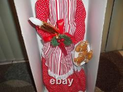 Holiday Living 28 African American Animated Musical Mrs. Claus NIB