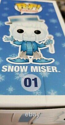 Holidays Pop! Vinyl Figure Snow Miser The Year Without A Santa Claus hard stak