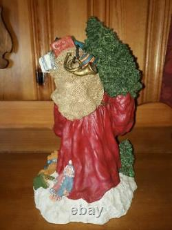June McKenna Santa Claus figure from 1994, hand signed by June and limited