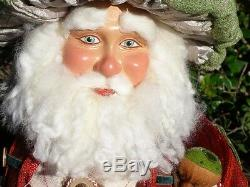 Katherine's Collection Santa Claus Gnome Whicket Pilwinkle 28-530388