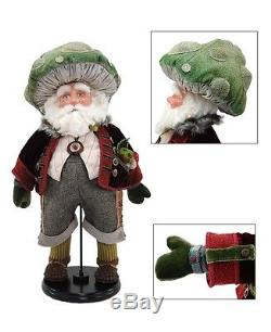 Katherine's Collection Woodland Santa Claus Gnome Whicket Pilwinkle 28-530388