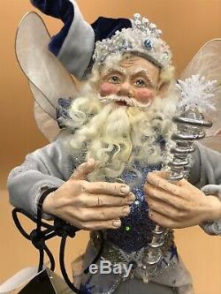 LYNN WEST DESIGNS NEIMAN MARCUS Blue Frost Fairy 2007 Ltd Edition 45/100
