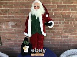 Large Ditz Designs Santa Claus Figure 38 Tall Opa Weihnachten 2006