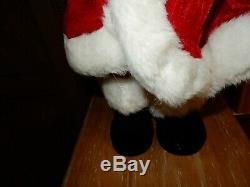 Large Santa Claus Figure Saks Fifth Avenue 27 Gorgeous! New