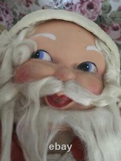 Large antique German Christmas Store Display Santa Claus 29 Inches 1920-1940