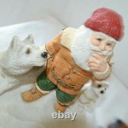 Legend of Santa Claus Totem North Pole Sculpture Statue Littlejohn United Design