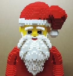 Lego Figura Exclusiva Estatua Papa Noel Gigante Grande Santa Claus Giant 86 CM