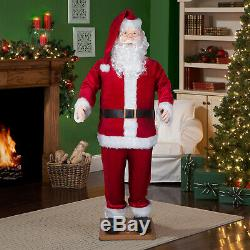 Life Size Dancing Santa Outdoor Christmas Decoration 5.8 Tall Commercial Figure