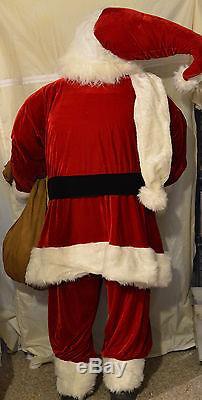 Life Size Red Elegant Santa Claus by Jacqueline Kent Christmas Figure new